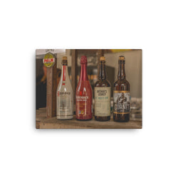 Cornet Beer & Palm Brewery Collection on Canvas Print