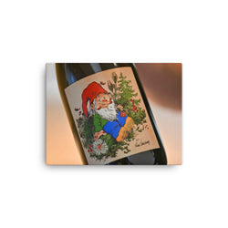 La Chouffe special edition label by Hausman - on a canvas print