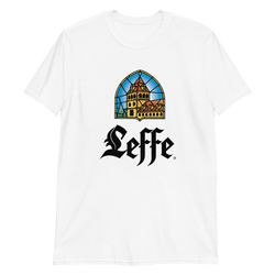 Leffe logo unisex tee shirt in a choice of colours