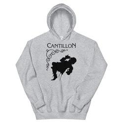 Cantillon logo unisex hoodie in great colours