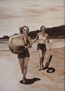 Mark Seabrook - The Beach II (Glynis & June)