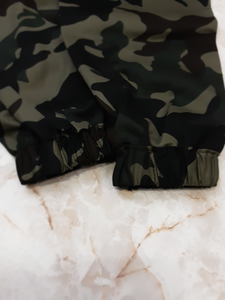 Women's army green camouflage pants
