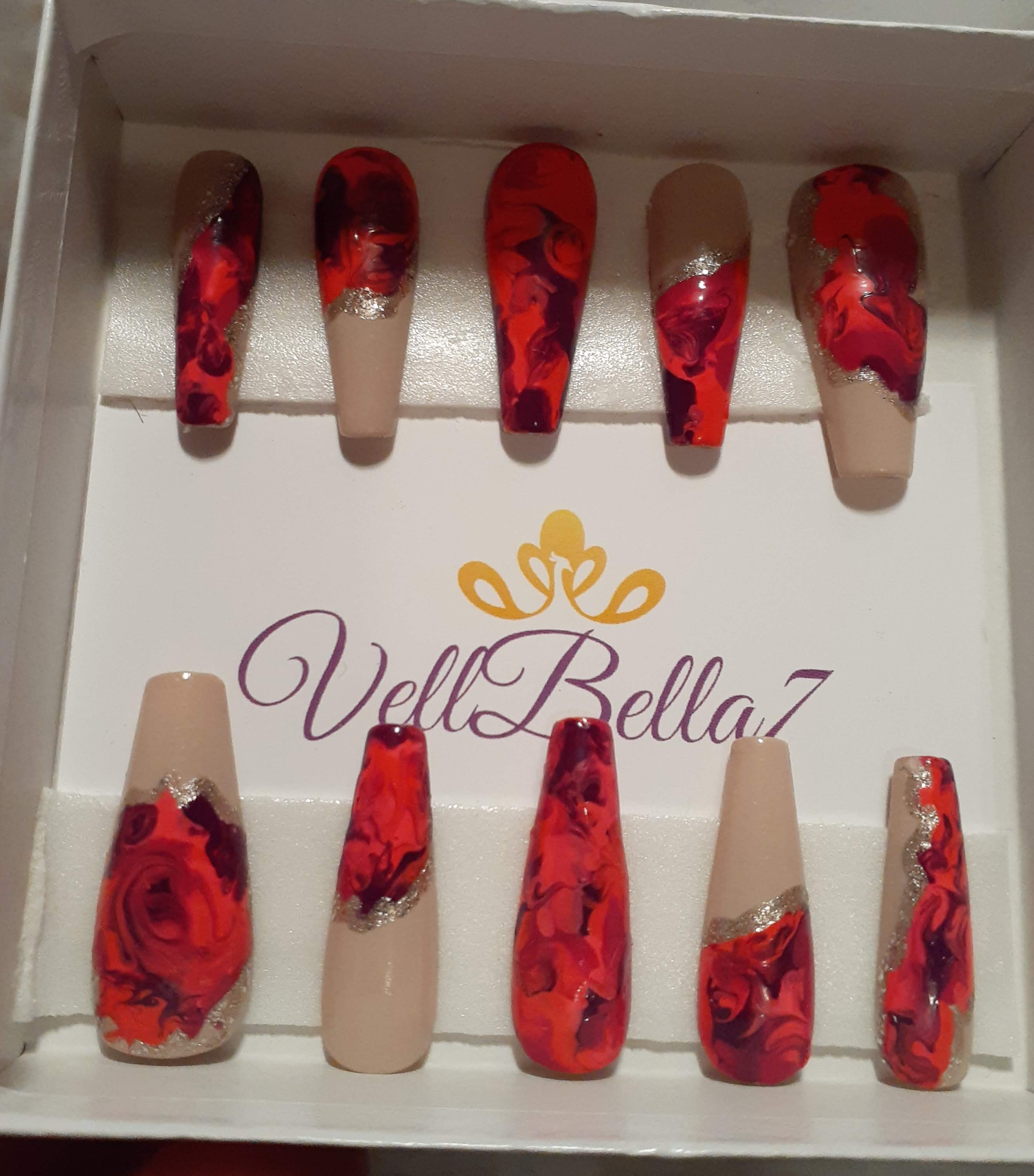 Luxury nail set 11