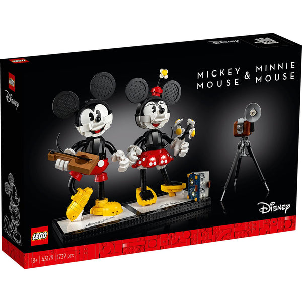 Mickey Mouse & Minnie Mouse Buildable Characters