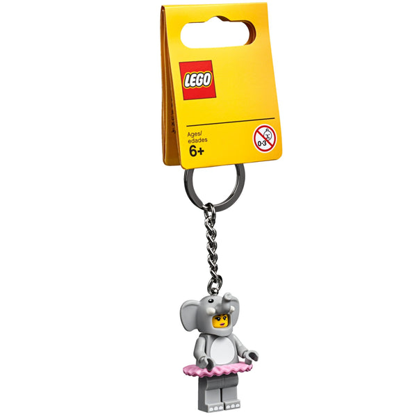 Elephant Girl Key Chain