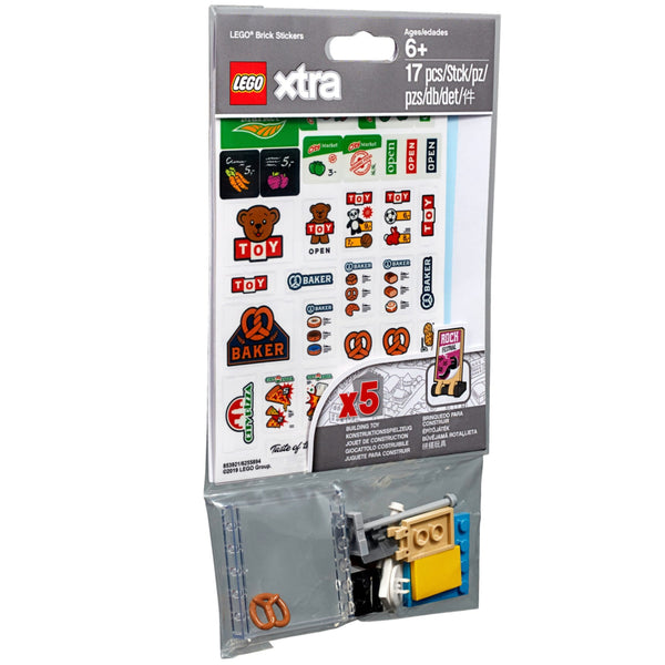 LEGO® xtra Brick Stickers