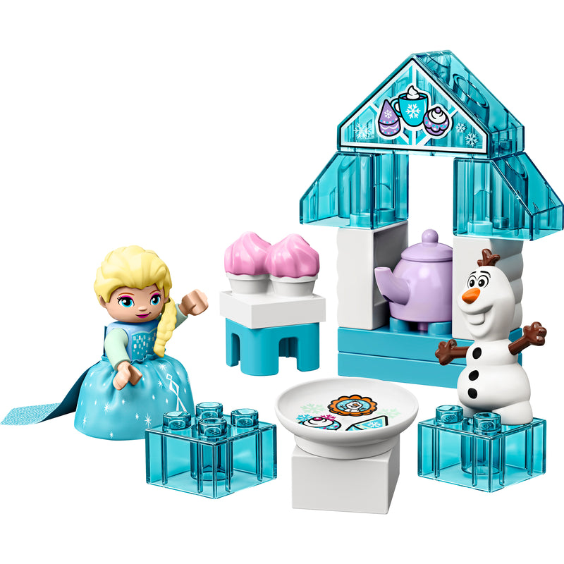 Elsa and Olafs Tea Party