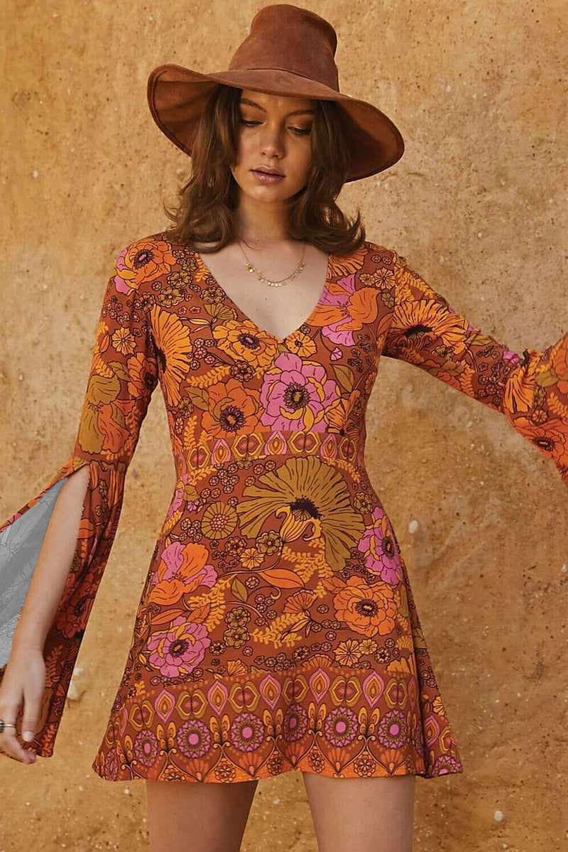 Orange Jupiter Dress - GHA Discount