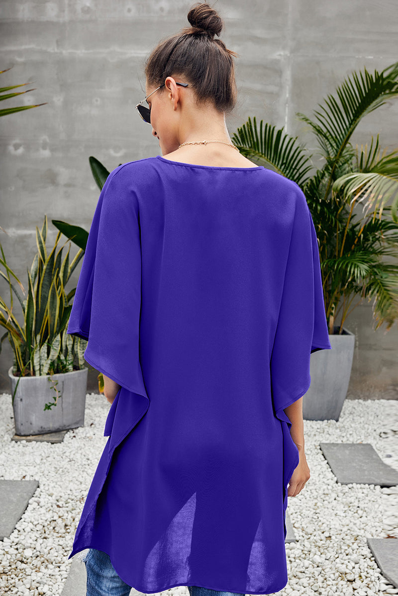 High Low Kimono Top - GHA Discount