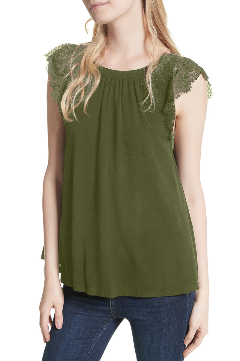 Green Lovin' On You Reversible Top - GHA Discount