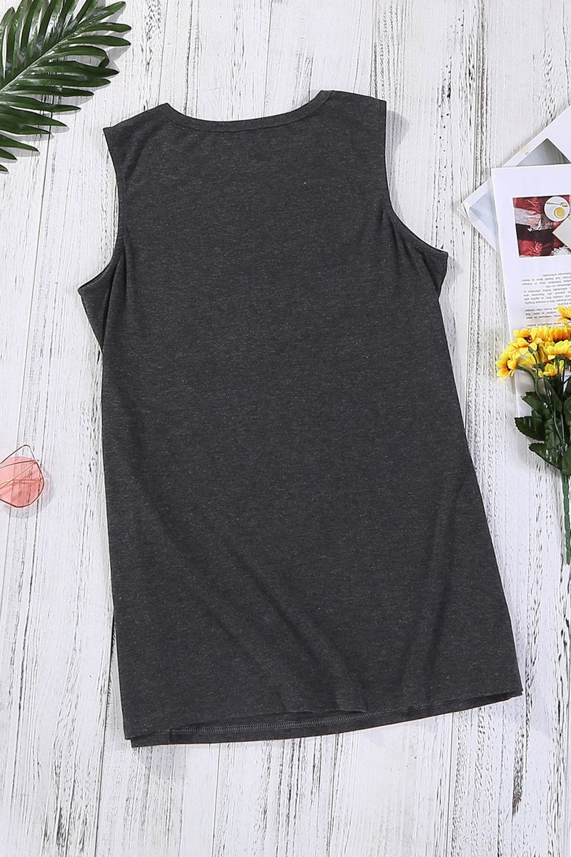 Be Kind Gray Tank Top - GHA Discount