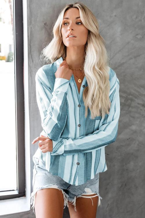 Scenic Route Button Down Top - GHA Discount