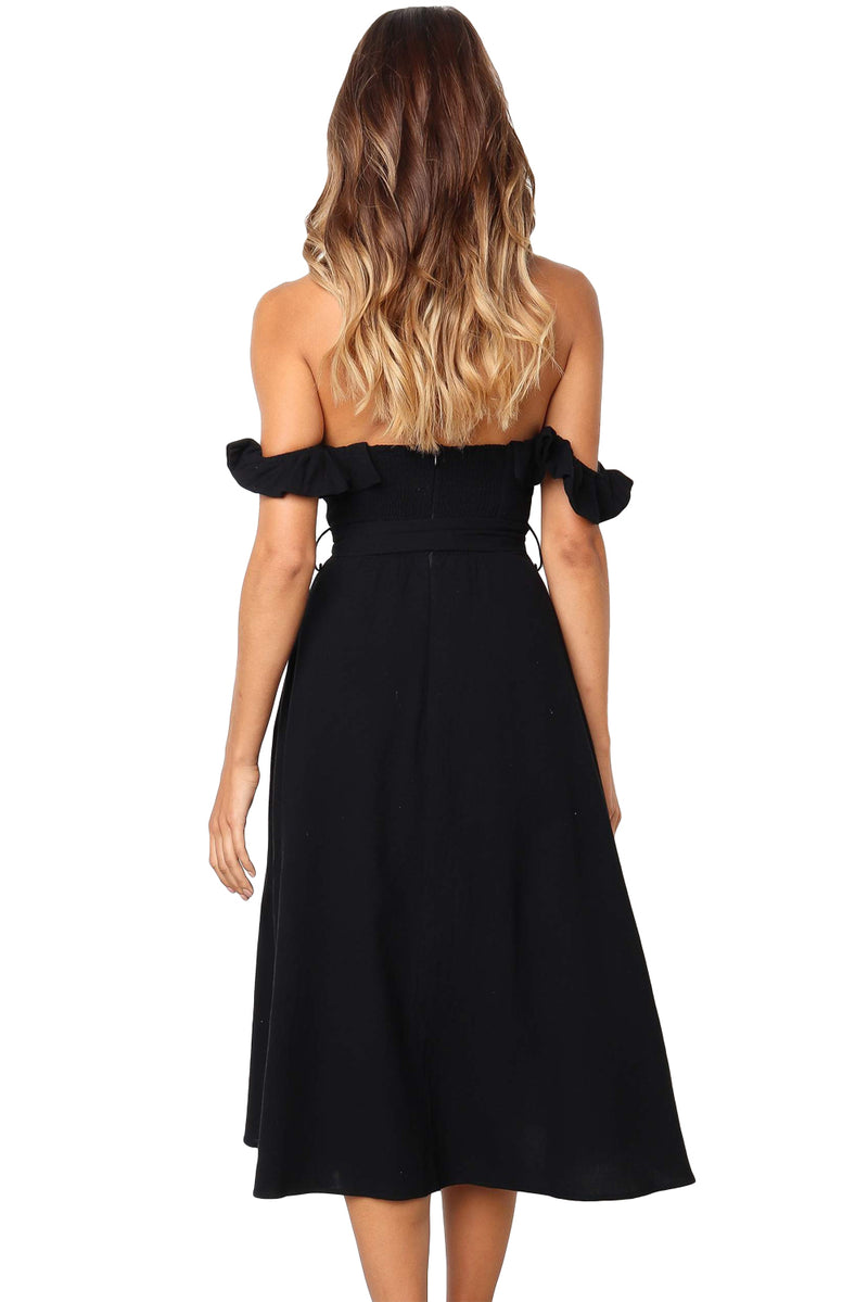 Black Dawn Dress - GHA Discount