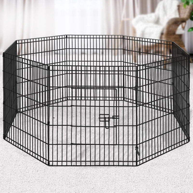 "i.Pet 2X30"" 8 Panel Pet Dog Playpen Puppy Exercise Cage Enclosure Fence Play Pen"
