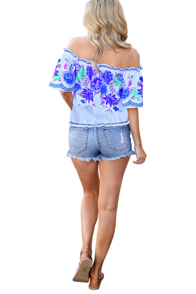 Cruisin Floral Top - GHA Discount