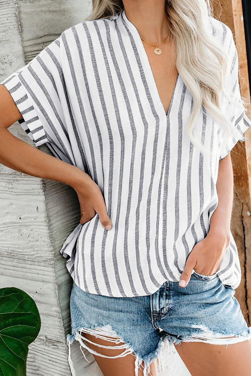 Striped Cotton Top - GHA Discount