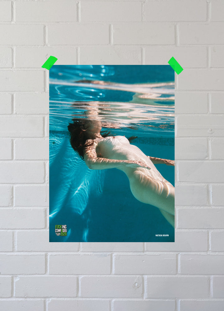 Load image into Gallery viewer, FUCKING CONFUSED 2020 Submerge Poster