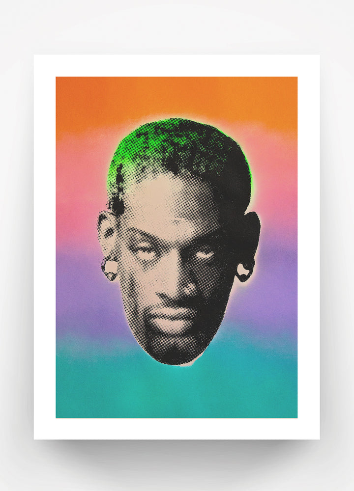 Load image into Gallery viewer, Rainbow Rodman Print