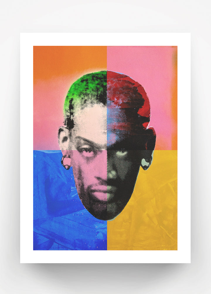 Load image into Gallery viewer, Spliced Rodman Print