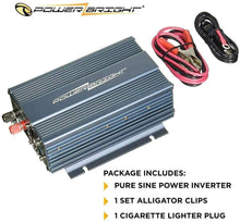 Load image into Gallery viewer, PowerBright Pure Sine Power Inverter 150 Watt image of package inclusion