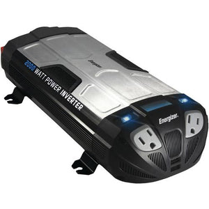 Refurbished EN2000 ENERGIZER 2000 Watt 12V DC to 110V AC Power Inverter With USB