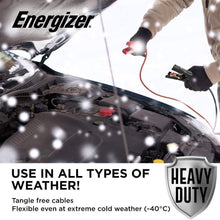 "Load image into Gallery viewer, Energizer 4 Gauge Jumper Battery Cables 16 Ft use in all types of weather even 40""C"