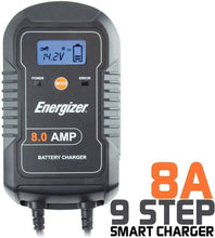 Load image into Gallery viewer, Energizer ENC8A 8-Amp Battery Charger main image