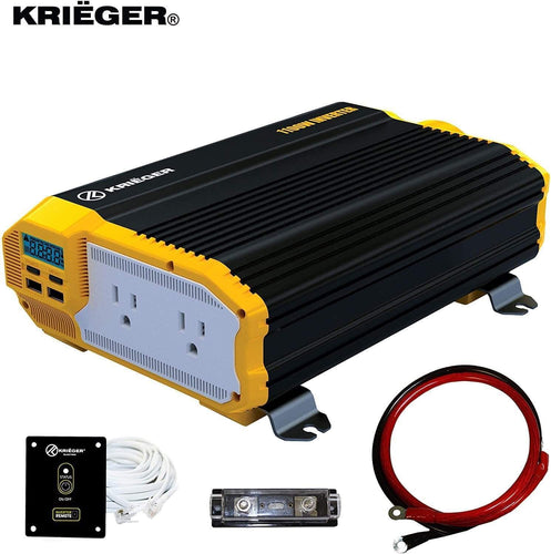 KRIËGER 1100 Watt 12V Power Inverter main image