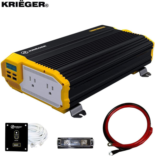 Krieger 1500 Watts Power Inverter 12V to 110V main image