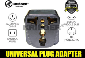 Krieger Plug Adapters Type I image of universal plug adapter