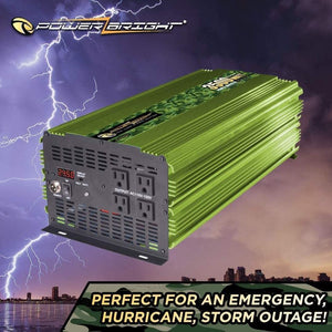 ML3500 Power Bright 3500 Watt 24V Power Inverter image of perfect use