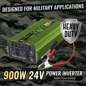 ML900 Power Bright 900 Watt 24V Power Inverter  image of watts and voltage