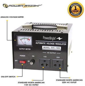 SVC1000 PowerBright 1000 Watt  image of features