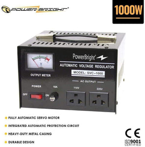 SVC1000 PowerBright 1000 Watt image of product inclusion