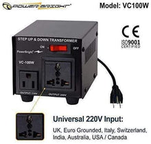 Load image into Gallery viewer, VC100W PowerBright (100W) image of universal input