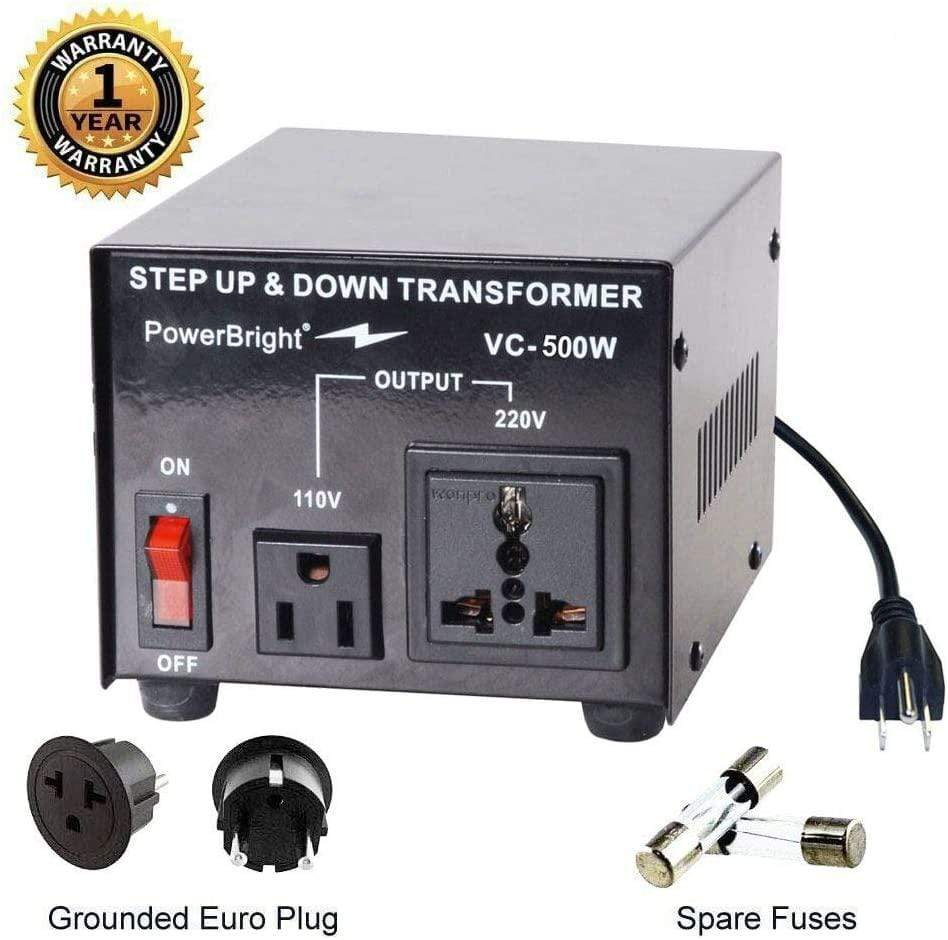 VC500W PowerBright Step Up & Down Transformer main image