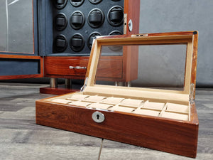 12 Solid Wood Watch Box (Window)