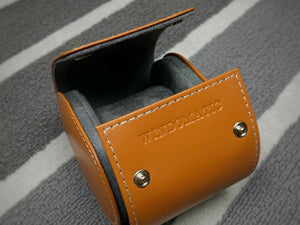Brown Travel Watch Pouch for 1