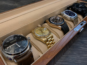 6 Solid Wood Watch Box