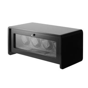 4+0 Classic Black Watch Winder
