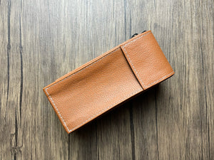 Brown Double Watch Caddy