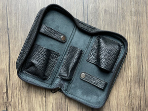 2 Watch Pouch (Black Pebble)
