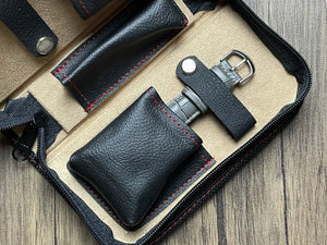 2 Watch Pouch (Black Ballistic)