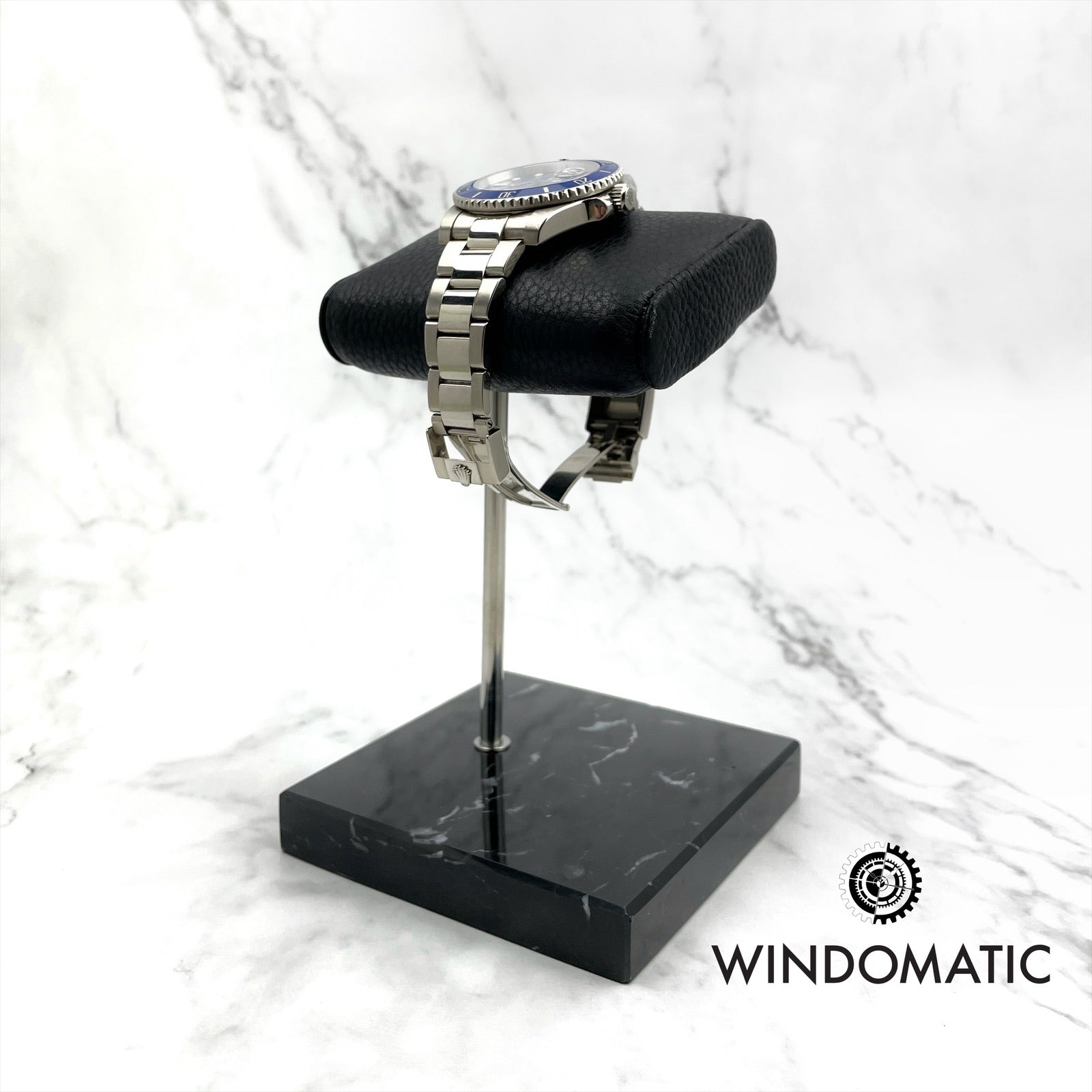 Black Marble Watch Stand