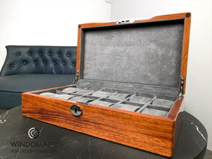 12 Solid Wood Watch Box