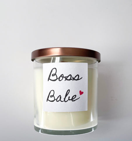 Boss Lady Quote Candle