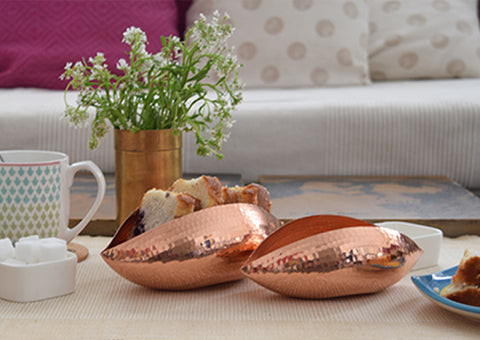 Copper Pod Snack Server