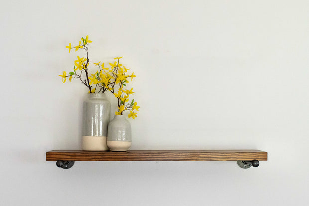 Clean Edge Pine Shelves WITHOUT Brackets
