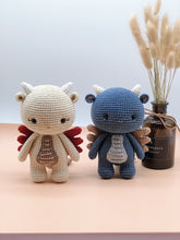 Load image into Gallery viewer, The Little Dragon - Crochet PDF Pattern