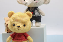 Load image into Gallery viewer, Pooh - Winnie The Pooh - Crochet PDF pattern